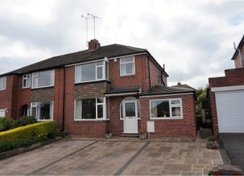 Thumbnail 4 bed semi-detached house for sale in Stannard Well Lane, Horbury, Wakefield