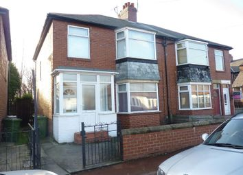 Thumbnail 3 bed flat to rent in Sackville Road, North Heaton, Newcastle Upon Tyne