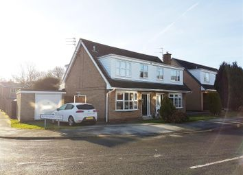 Thumbnail 3 bed semi-detached house for sale in Rockingham Close, Shepshed, Leicestershire