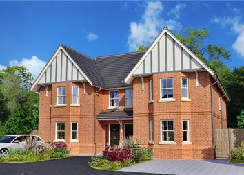 Thumbnail 4 bed semi-detached house for sale in The Valders, Linsford Lane, Mytchett