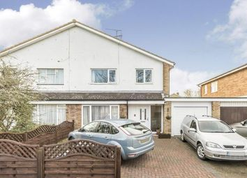 Thumbnail 3 bed semi-detached house for sale in Vallansgate, Stevenage, Hertfordshire, England