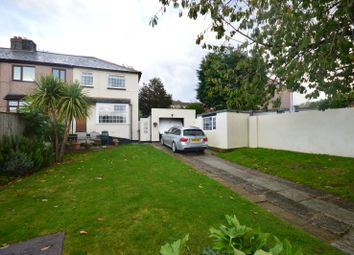 3 bed end terrace house for sale in Stentaway Road, Plymouth, Devon PL9