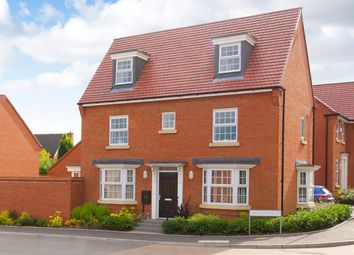 "Thumbnail 4 bed detached house for sale in ""Hertford"" at Fen Street, Brooklands, Milton Keynes"