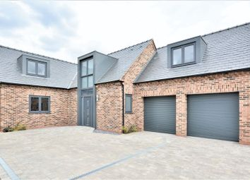 Thumbnail 4 bed detached house for sale in Burghley Court, Moor Lane, North Hykeham