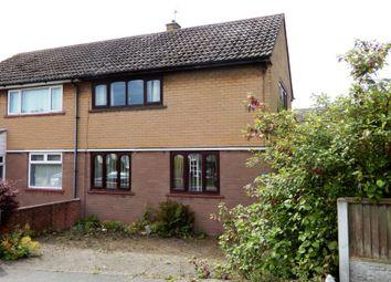 Thumbnail 2 bed semi-detached house for sale in 119 Levens Drive, Morton Park, Carlisle, Cumbria