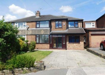 Thumbnail 4 bed semi-detached house for sale in Catherine Road, Romiley, Stockport