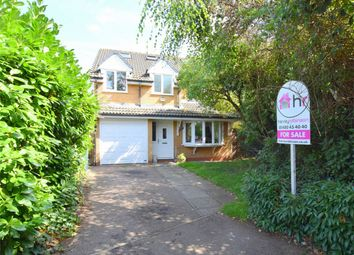 Thumbnail 6 bed detached house for sale in Lake Way, Stukeley Meadows, Huntingdon, Cambridgeshire