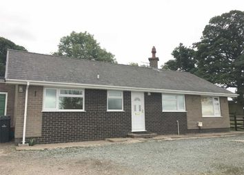 Thumbnail 3 bed detached bungalow to rent in Pencribba, Forden, Welshpool, Powys