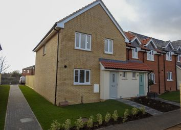 Thumbnail 3 bed end terrace house for sale in Carr Avenue, Leiston, Suffolk