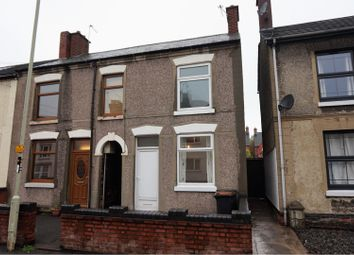Thumbnail 2 bed end terrace house for sale in Central Road, Hugglescote
