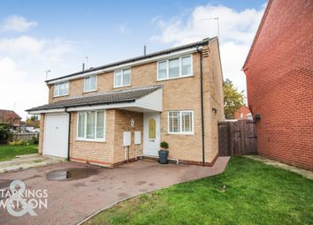 3 bed semi-detached house for sale in Portsch Close, Carlton Colville, Lowestoft NR33
