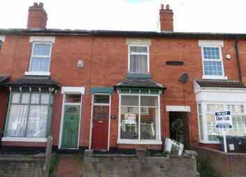Thumbnail Property for sale in Solihull Road, Sparkhill, Birmingham, West Midlands