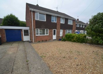 Thumbnail 3 bed semi-detached house for sale in Fetlock Close, Clapham, Bedford