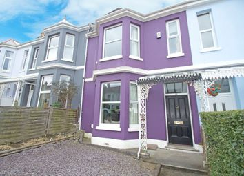 Thumbnail 4 bed terraced house for sale in Hermitage Road, Mutley, Plymouth