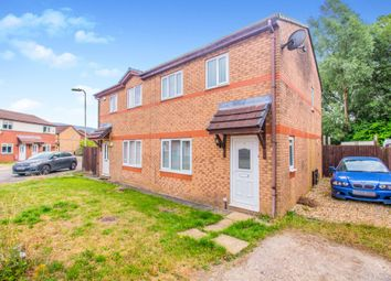 Thumbnail 3 bed semi-detached house for sale in Heol Ty Crwn, Pontypandy, Caerphilly