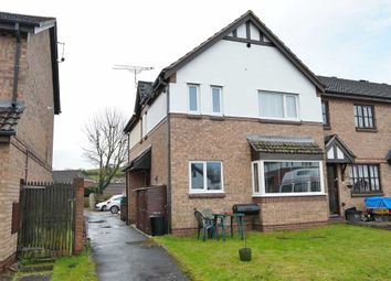 Thumbnail 2 bedroom semi-detached house for sale in Heron Way, Cullompton