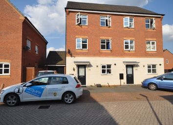 Thumbnail 4 bed town house to rent in Hevea Road, Stretton, Burton-On-Trent
