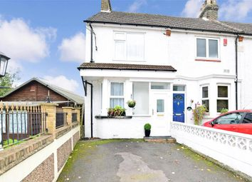 Thumbnail 3 bed end terrace house for sale in East Hill, Chatham, Kent