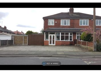 Thumbnail 4 bed semi-detached house to rent in Birch Road, Manchester