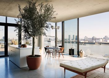 Thumbnail 3 bedroom flat for sale in Tidemill Square, Greenwich Peninsula