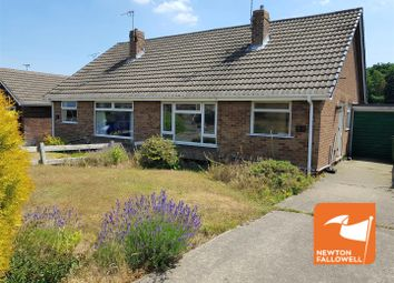 Thumbnail 2 bedroom semi-detached bungalow for sale in Keyworth Drive, Forest Town, Mansfield