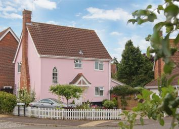 Thumbnail 3 bed detached house for sale in Bluebell Avenue, Bury St. Edmunds