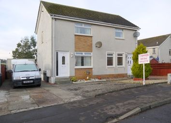 Thumbnail 2 bedroom semi-detached house for sale in Broadwood, Ayr