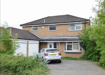 Thumbnail 4 bedroom detached house for sale in Deerhurst Close, Totton