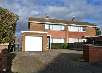 Thumbnail 3 bed semi-detached house for sale in Sandcliffe Road, Grantham