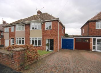 Thumbnail 3 bed semi-detached house for sale in Worsfold Close, Coventry