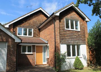 Thumbnail 4 bed detached house to rent in Oak Tree Close, Virginia Water, Surrey