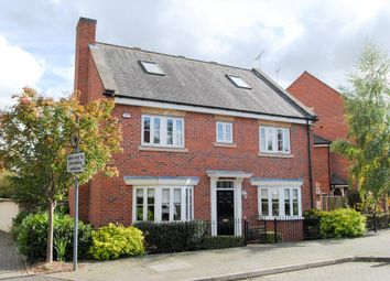 Thumbnail 5 bed detached house for sale in Campriano Drive, Warwick
