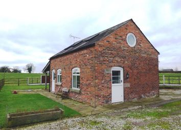 Thumbnail 1 bed cottage to rent in Pexall Road, North Rode, Congleton