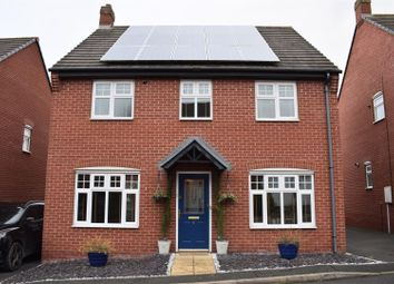 Thumbnail 4 bedroom detached house for sale in Lincote Way, Woodville, Swadlincote
