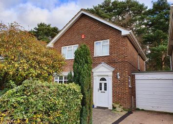 Thumbnail 4 bed detached house for sale in Pinetrees Close, Copthorne, Crawley
