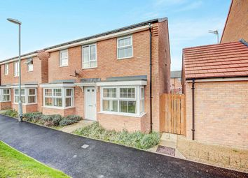 Thumbnail 4 bed detached house for sale in Bellister Court, Blyth