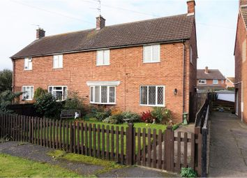 Thumbnail 3 bed semi-detached house for sale in North Crescent, Bottesford, Nottingham