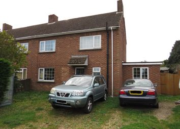 Thumbnail 3 bed semi-detached house for sale in Hall Close, Southery, Downham Market