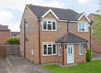 Thumbnail 2 bed semi-detached house for sale in Morehall Close, York