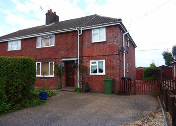 Thumbnail 4 bed semi-detached house for sale in Howe Lane, Poringland, Norwich