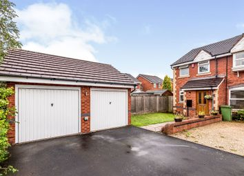 Thumbnail 2 bed semi-detached house for sale in Campion Drive, Tamworth