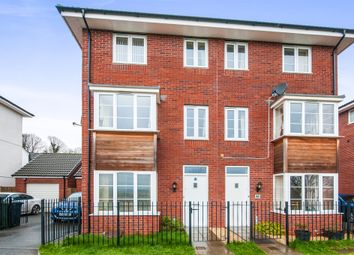 Thumbnail 4 bed semi-detached house for sale in Jack Sadler Way, Exeter