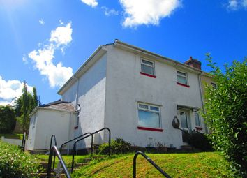 Thumbnail 3 bed semi-detached house for sale in Penygraig Road, Townhill, Swansea, City And County Of Swansea.