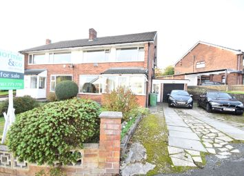 Thumbnail 4 bed semi-detached house for sale in Hawkstone Avenue, Whitefield, Manchester, Greater Manchester