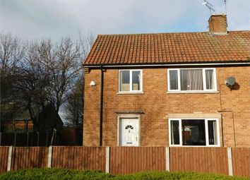 Thumbnail 3 bedroom semi-detached house to rent in Laburnum Road, Langold, Worksop, Nottinghamshire