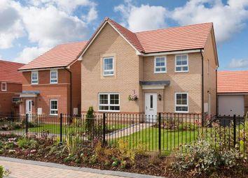 "Thumbnail 4 bed detached house for sale in ""Radleigh"" at Bruntcliffe Road, Morley, Leeds"