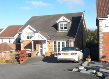 Thumbnail 4 bed detached house to rent in Gellideg Isaf Rise, Maesycwmmer, Hengoed