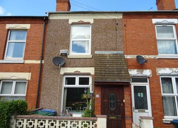 Thumbnail 2 bed terraced house for sale in Northfield Road, Stoke, Coventry