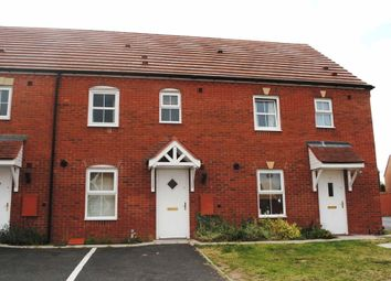 Thumbnail 3 bed terraced house to rent in Beaconsfield Road, Market Drayton