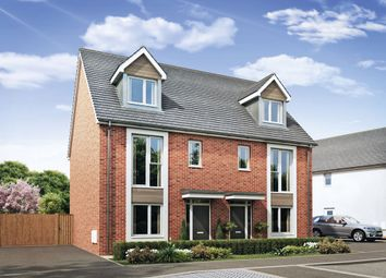 Thumbnail 4 bed semi-detached house for sale in Burton Road, Castle Gresley, Swadlincote